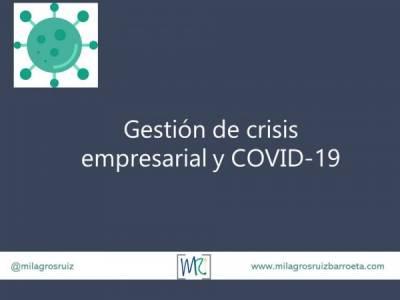 Gestion de crisis empresarial y COVID-19 - Milagros Ruiz Barroeta