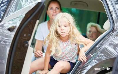 Cómo evitar el mareo de los niños en el coche y llevar cómo equipaje solo ilusión. . . nada de vómitos
