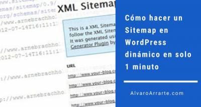 Cómo hacer un Sitemap en WordPress dinámico en solo 1 minuto