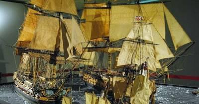 El Blog de Ramón Martín: Trafalgar – Navío San Agustín – MARINA ESPAÑOLA