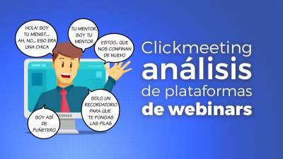 Clickmeeting. Análisis de plataformas de Webinar