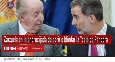 """La BBC estima que 'el legado Borbón español está en ruinas"""" pero esconde un tesoro billonario en la Zarzuela"""
