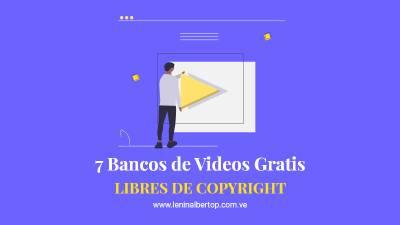 7 Mejores bancos de VIDEOS GRATIS libres de derechos de autor