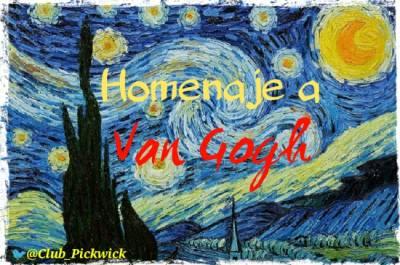 Letras Prestadas: Homenaje a Van Gogh