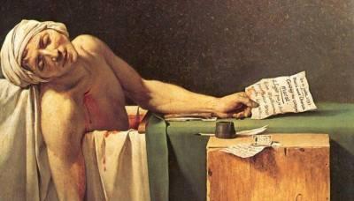 La muerte de Marat, imagen de una Revolución. Jacques-Louis David