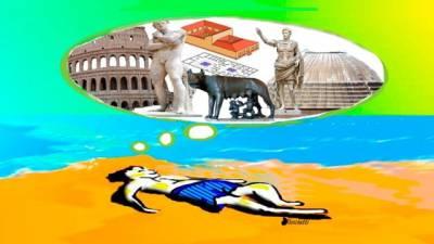 ¿Arte con virus o arte viral? Parte V Roma