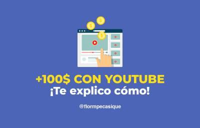 ≫ Cómo ganar mas 100 dolares en Youtube con un canal pequeño ️
