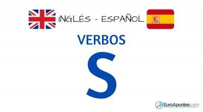 Verbos Con S Idioma Inglés Español