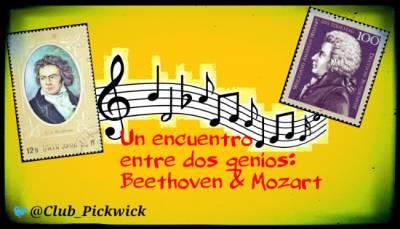 Letras Prestadas: Un encuentro entre dos genios: Beethoven y Mozart