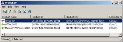 Produkey, Recupera tus claves de Microsoft fácilmente