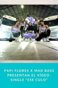 """Papi Flores X Mad Bass presentan el Vídeo-Single """"Ese Culo"""" - Munduky"""