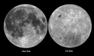¿Por qué no hay manchas oscuras en el lado oculto de la Luna?