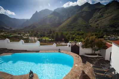 4 preciosas Casas Rurales con piscina en Gran Canaria