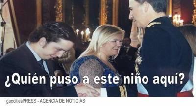 Hasta el 'pequeño Nicolás' podría estar involucrado en las supuestas 'aventuras sexuales' del emérito