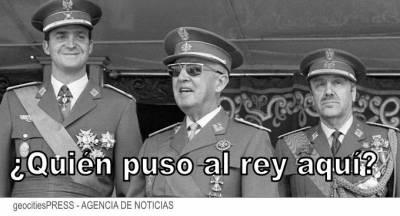 Desde la expoliaciones de Franco a una dictadura en las sombras del franquista Juan Carlos Borbón