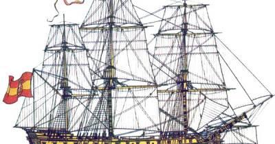 El Blog de Ramón Martín: Trafalgar – Navío Bahama – MARINA ESPAÑOLA