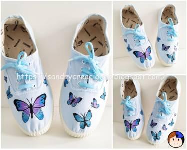 Customizar Zapatillas con Pintura de Tela