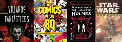 Villanos Fantásticos, Comics De Los 80, Los Misterios De Charlotte Holmes Y Star Wars: Boba Fett (Integral)