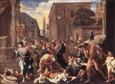 Pandemias de la Antigüedad en el Arte