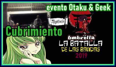 Batalla de bandas Rock en la convención Geek y Otaku Umbrella