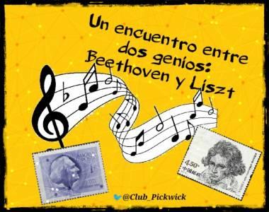 Letras Prestadas: Un encuentro entre dos genios: Beethoven y Liszt