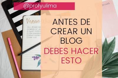 Lee estos consejos si deseas tener un Blog Exitoso