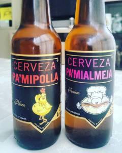 Cerveza pa'mipolla y pa'mialmeja. Cómo venirse arriba con el nombre de un producto
