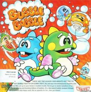 Los malos del bubble bobble, así se las gastaban los diseñadores de manuales de los 90