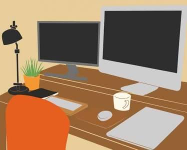 Los escritores freelancer deberían usar dos monitores de ordenador
