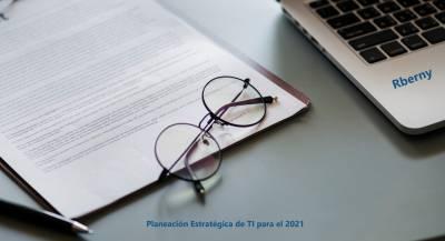 Planeación Estratégica de TI para el 2021 - Sitio Rberny