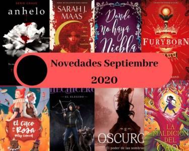 Novedades de septiembre 2020