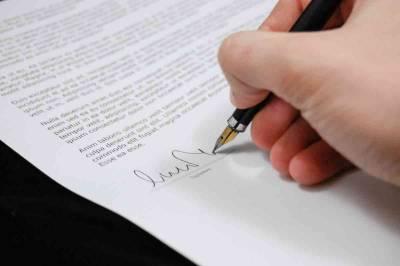 Proceso básico para realizar una firma electrónica