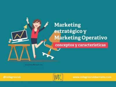 Marketing estratégico y Operativo, conceptos y características - Milagros Ruiz Barroeta
