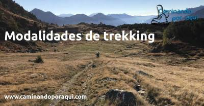 Modalidades de trekking