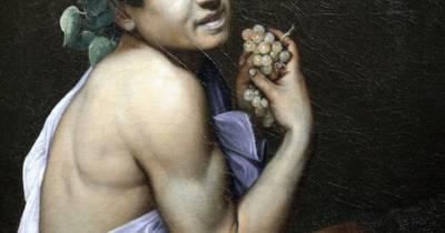 .: Los Martes con Caravaggio - Baco enfermo – PINTORES ITALIANOS