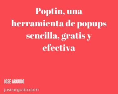 Poptin, una herramienta de popups sencilla, gratis y efectiva
