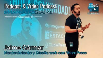 101 Charla con Jaime Gármar Podcast y WordPress (1ª parte)