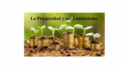 La prosperidad y sus limitaciones