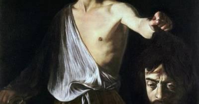 .: Los Martes de Caravaggio - David con la cabeza de Goliat – PINTORES ITALIANOS