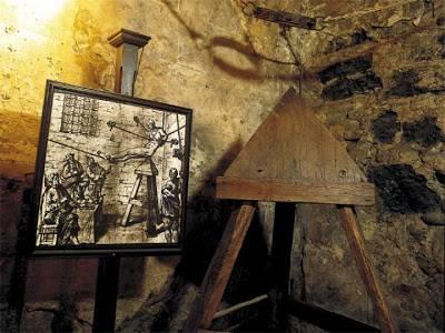Métodos de tortura de la Inquisición 'Cuna de Judas'