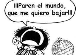 Este mundo está falto de Mafaldas