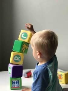 La coordinación visual y manual en la primera infancia