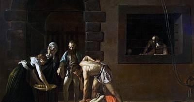 .: Los Martes de Caravaggio - La decapitación de San Juan Bautista – PINTORES ITALIANOS