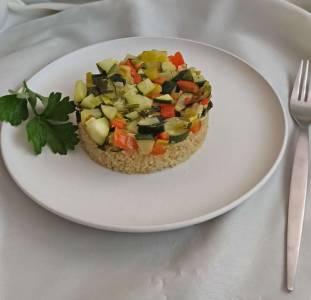 Tartar De Quinoa Con Verduras
