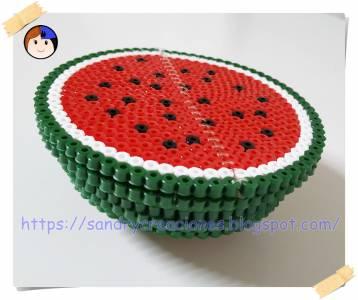 Sandia 3D con Hama Beads Midi