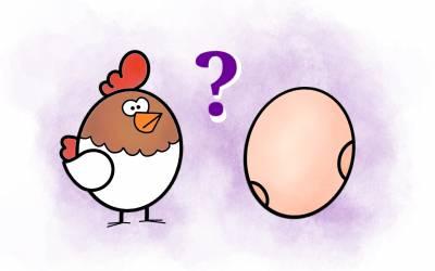 ¿Qué fue antes, el huevo o la gallina?