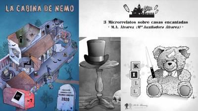 Mi participación en La Cabina de Nemo Nº 7 | Microrrelatos, ilustraciones y maquetación
