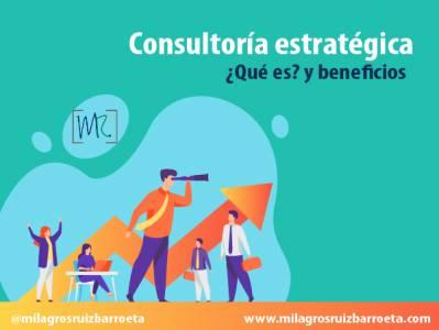 Consultoría estratégica, qué es y beneficios - Milagros Ruiz Barroeta