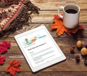 Book Tag Cozy Autumn