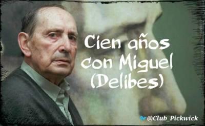 Letras Prestadas: Cien años con Miguel (Delibes)